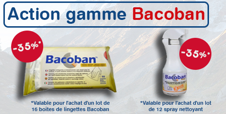 Bacoban 1 lingettes